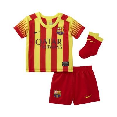 nike FC BARCELONA Trikot Away Mini Kit 2013 / 2014